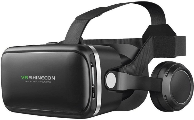 DMG VR Shinecon Dream 45MM Lens Adjustable Headset with Touch Controls and Gaming Headphones(Smart Glasses)