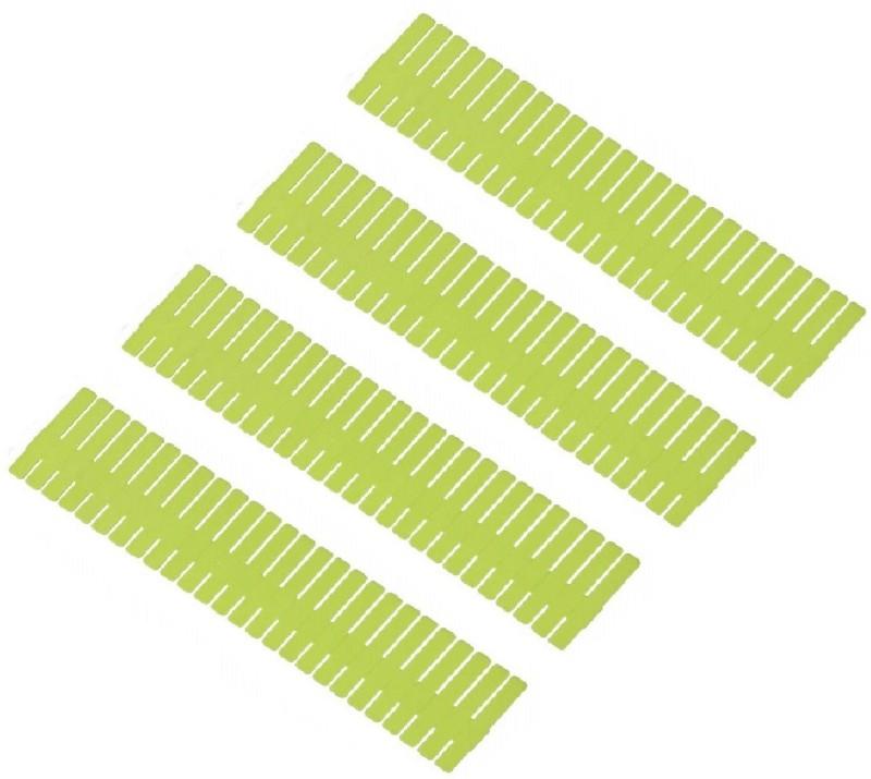 SYGA DIY Plastic Grid Drawer Divider Household Storage Strips_Large Drawer Divider(Plastic)