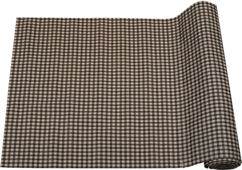 E-Retailer Rectangular Pack of 1 Table Placemat(Brown, PVC (Polyvinyl Chloride))