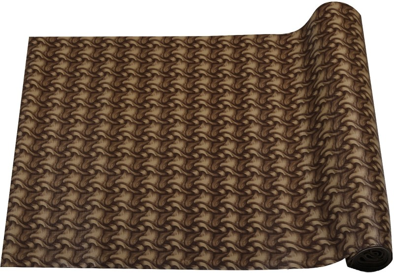 Aradent Rectangular Pack of 1 Table Placemat(Brown, PVC (Polyvinyl Chloride))