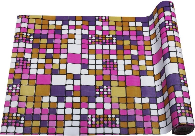 E-Retailer Rectangular Pack of 1 Table Placemat(Multicolor, PVC (Polyvinyl Chloride))