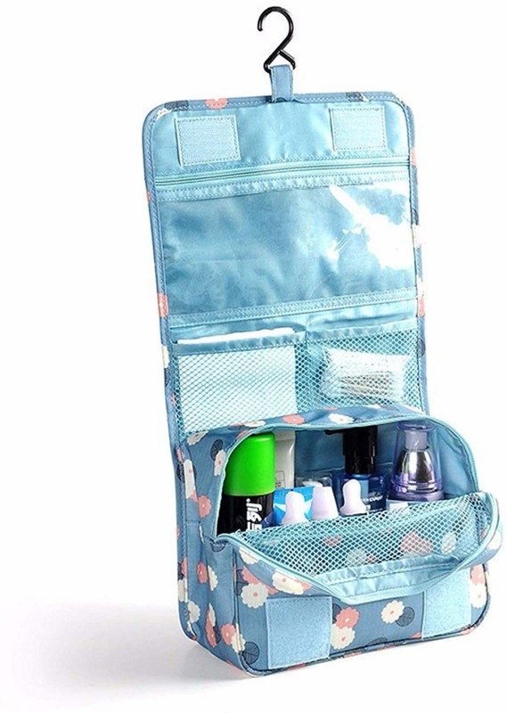 Swarish Toiletry Hanging Kit for Women Portable Cosmetic Bag Makeup Pouch Waterproof Travel Organizer Bag Travel Toiletry Kit(Multicolor)