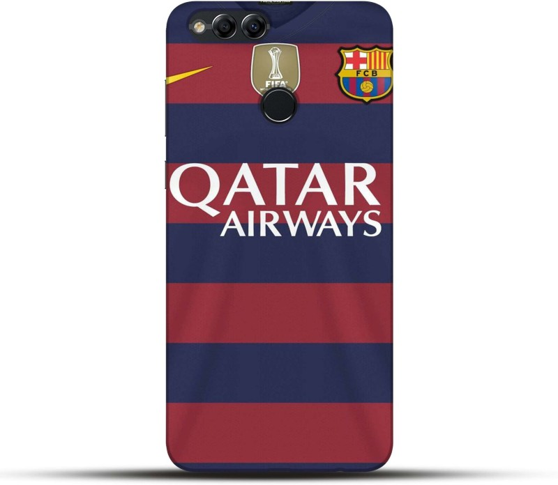 Pikkme Back Cover for Qatar Airways Huawei Honor 7X(Multicolor, Hard Case)