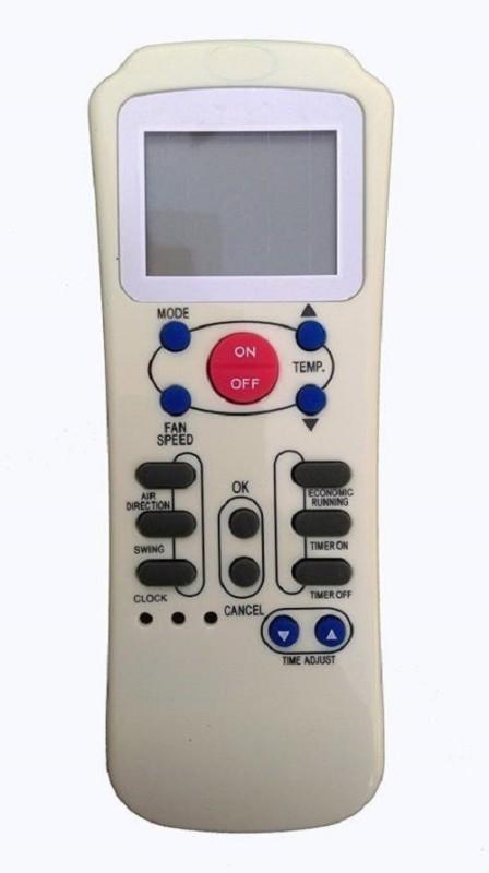 VBEST COMPATIBLE REMOTE AC Remote Controller(White)