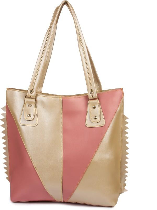 Faijan Fashions Women Pink, Beige Shoulder Bag