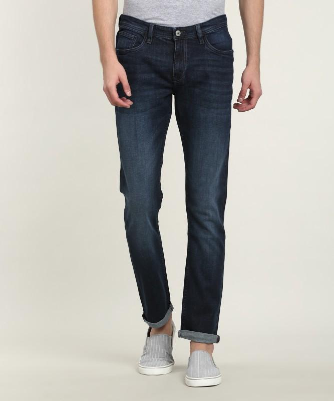 ARROW BLUE JEANS CO. Slim Men Dark Blue Jeans