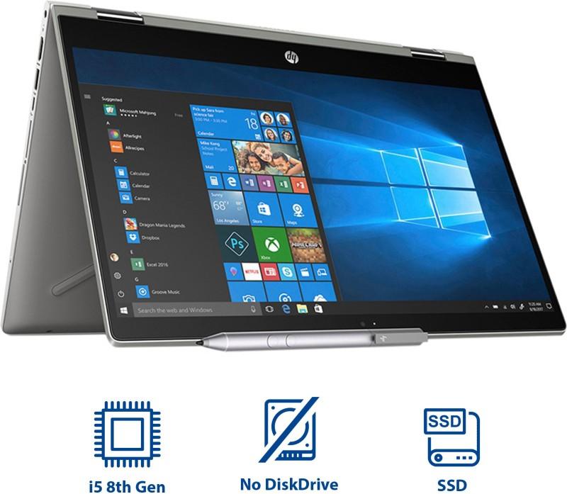 HP Pavilion x360 Core i5 8th Gen - (8 GB/1 TB HDD/