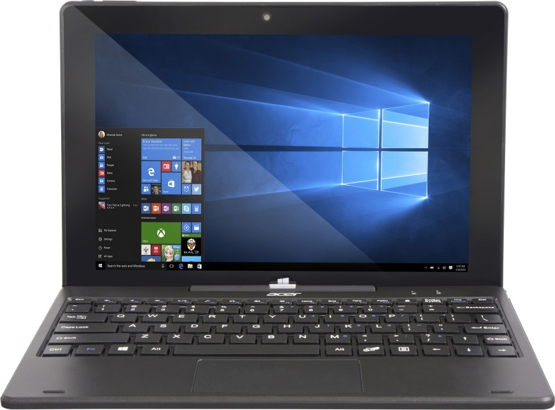 Acer Switch One Atom Quad Core - (2 GB/32 GB EMMC Storage/Windows 10 Home) SW110-1CT / SW110-ICT 2 in 1 Laptop(10.1 inch, Black)