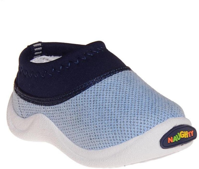Dayz Boys & Girls Slip on Walking Shoes(Light Blue)