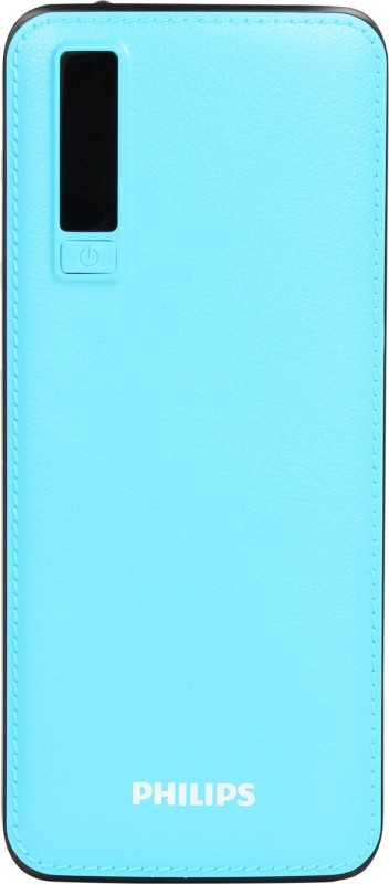 Philips 11000 mAh Power Bank (10 W, Fast Charging)(Blue, Lithium-ion)