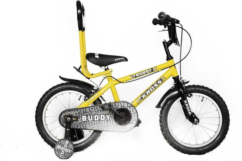 Kross Buddy Yellow&Black 16 T Recreation Cycle(Single Speed, Black)