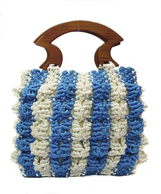 RITA'S Women White, Blue Hand-held Bag