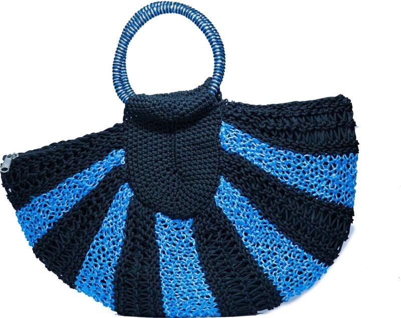 RITA'S Women Black, Blue Hand-held Bag