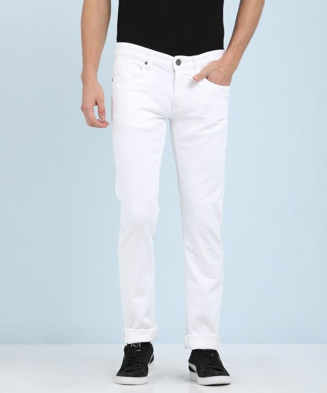 LP Jeans by Louis Philippe Slim Men's White Jeans