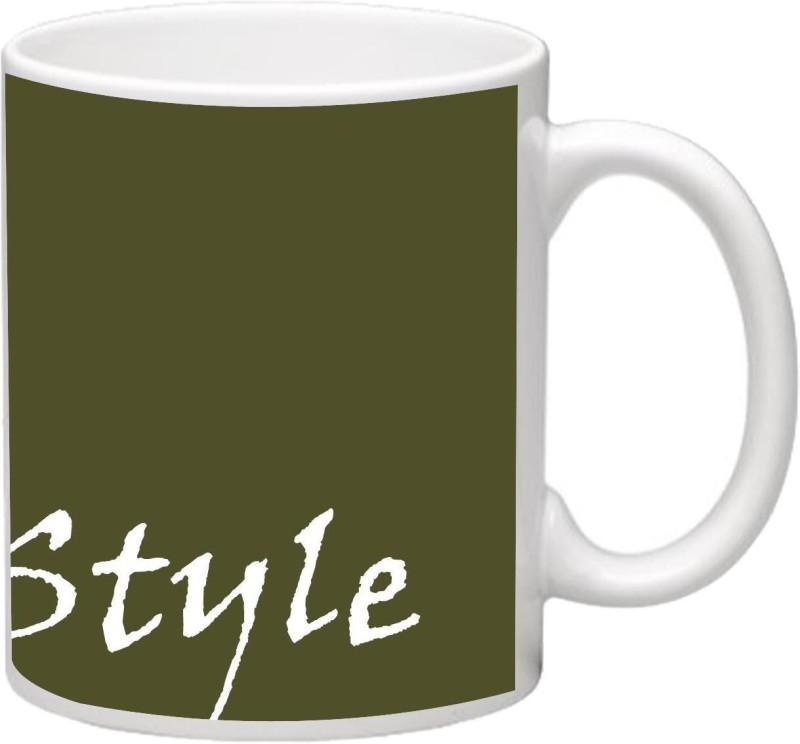 MudShi MD-4090 Ceramic Mug(330 ml)