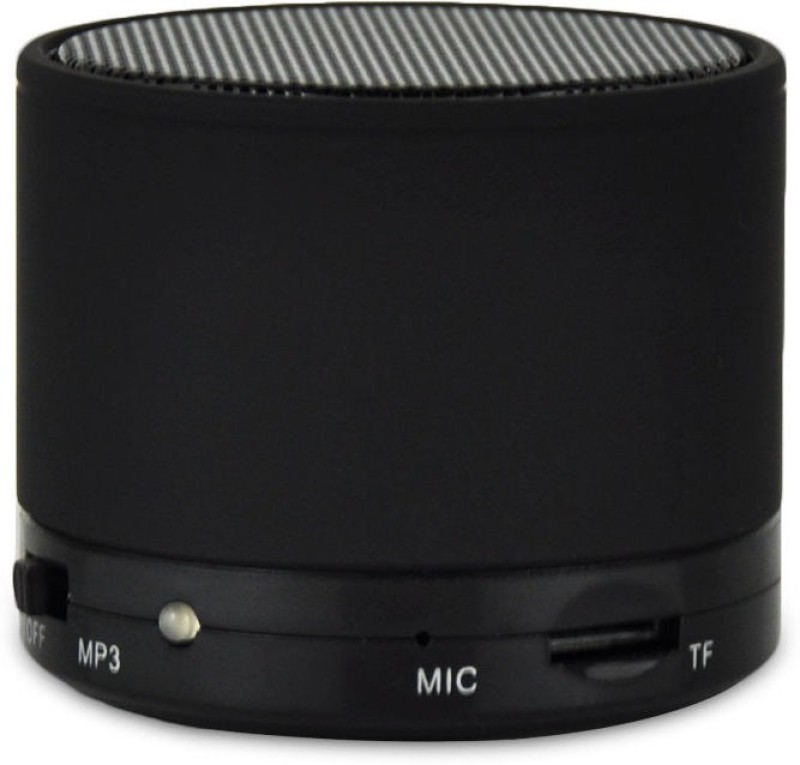 Voltegic Bluetooth Wireless Portable Re-Chargeable Portable Travel Speaker BL-S10 5 W Bluetooth Home Audio Speaker(Black, Mono Channel)