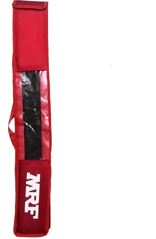 MRF RED PADDED Bat Cover Free Size(Red)
