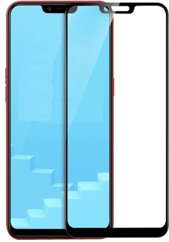 Ridhaniyaa Edge To Edge Tempered Glass for Realme C1(Pack of 1)