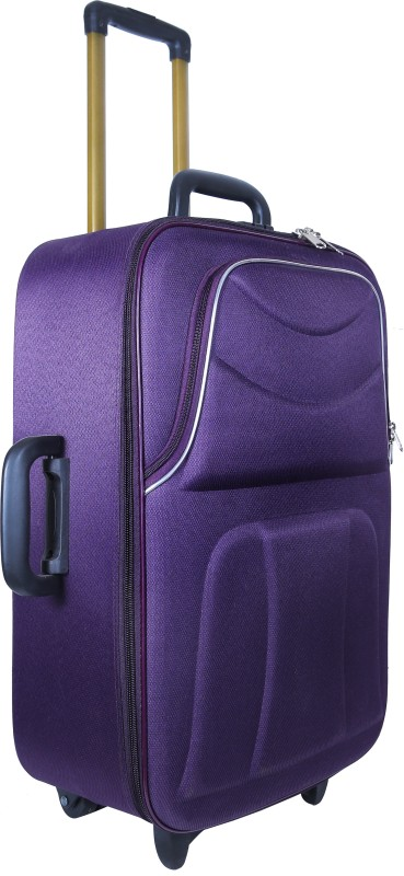 Nuremberg Suitcase Trolley /Travel/ Tourist Bag Check-in Luggage - 24 inch(Purple)