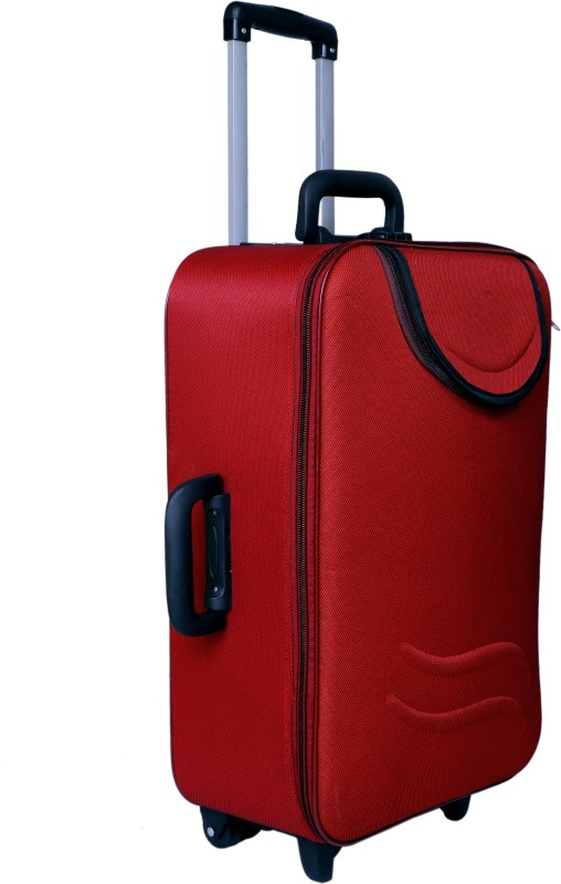 Nuremberg Suitcase Trolley /Travel/ Tourist Bag Check-in Luggage - 24 inch(Red)