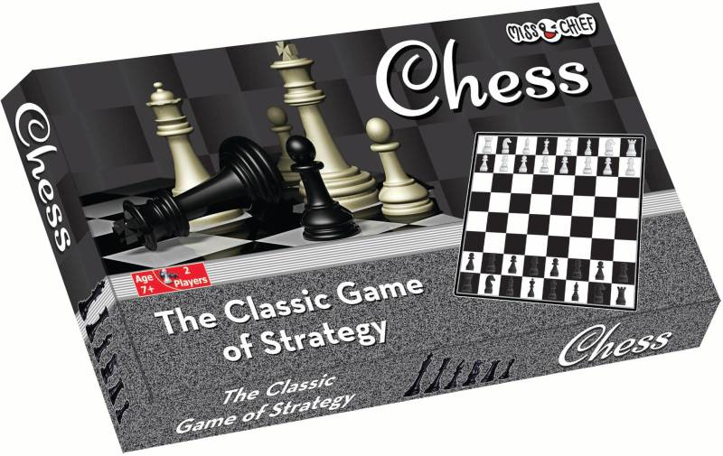 Miss & Chief Chess Board Game