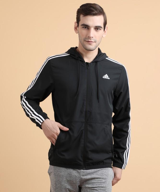 ADIDAS Full Sleeve Self Design Men Jacket