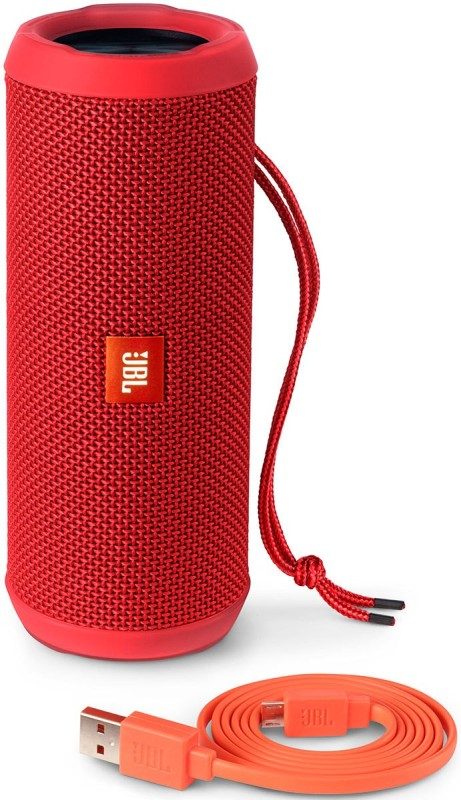 -56% JBL Flip 3 Splash Proof 16 W Portable Bluetooth Speaker(Red, Stereo Channel)