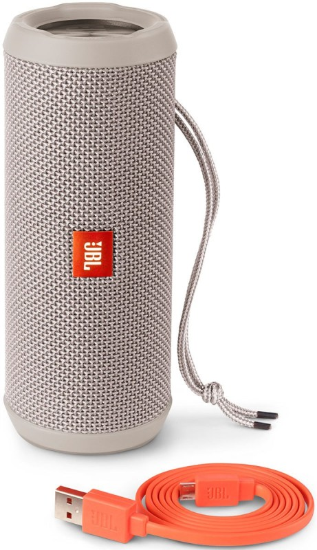 JBL Flip 3 Splash Proof 16 W Portable Bluetooth Speaker(Grey, Stereo Channel)