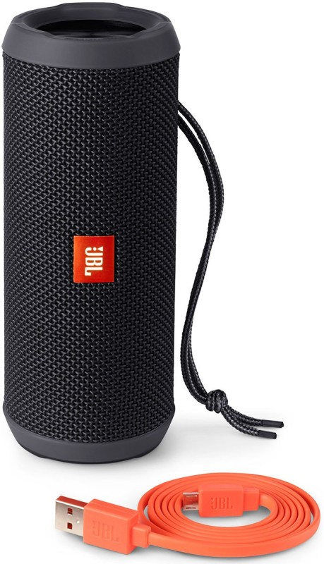 JBL Flip 3 Splash Proof 16 W Portable Bluetooth Speaker(Black, Stereo Channel)