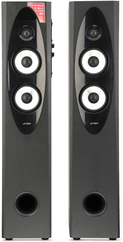 F&D T 60X 110 W Bluetooth Tower Speaker(Black, 2.0 Channel)