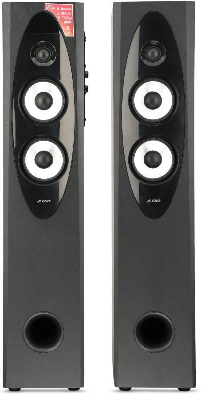 F&D T 60X 110 W Bluetooth Tower Speaker(Black, 2.0 Channel)