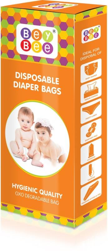 Bey Bee Disposable Diaper Bags Diaper Disposal Bin(50pcs)
