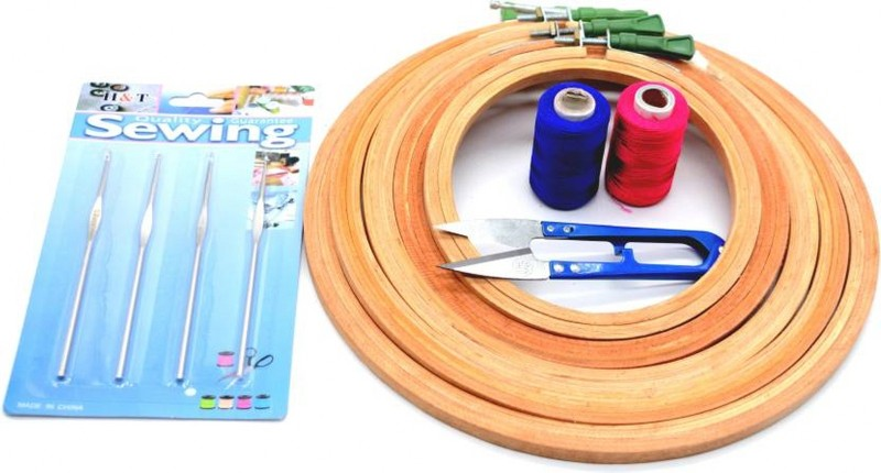 natural 1233 Embroidery Hoop(Pack of 12)