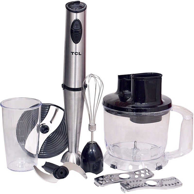 TCL TM-319 800 Hand Blender(Silver, Black)