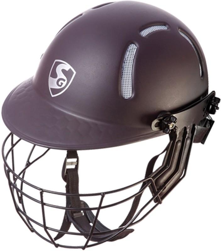 SG Aerotech Cricket Helmet(Red & White)