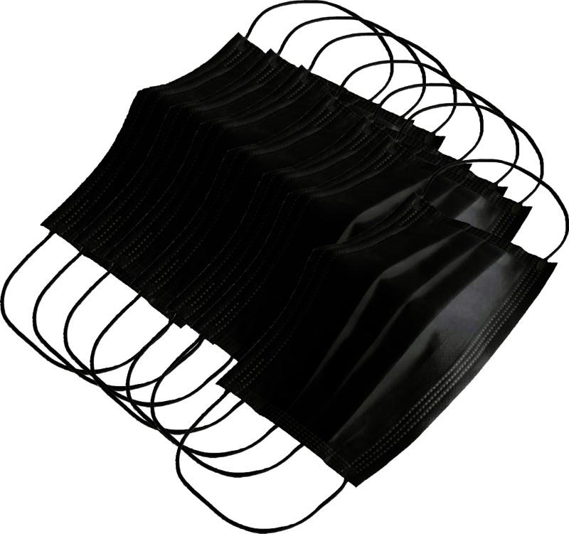 AutoKraftZ Disposable Anti Pollution Mask Black DPMB ST7_006 Mask