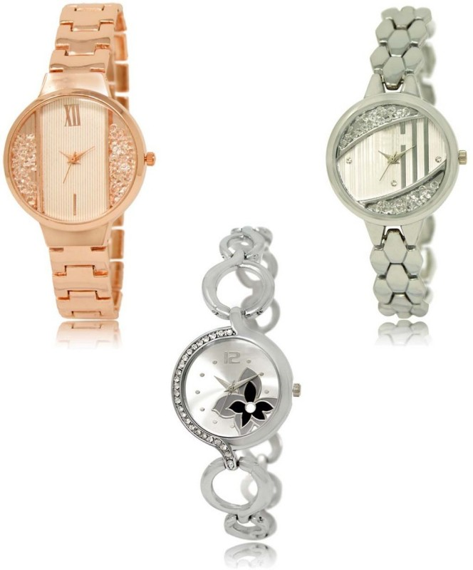 INFINITY MAKERS LRM-217-223-232 Best Selling New Combo Analog Watch  - For Women