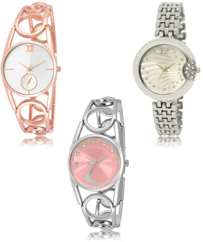 INFINITY MAKERS LRM-213-227-233 Best Selling New Combo Analog Watch  - For Women