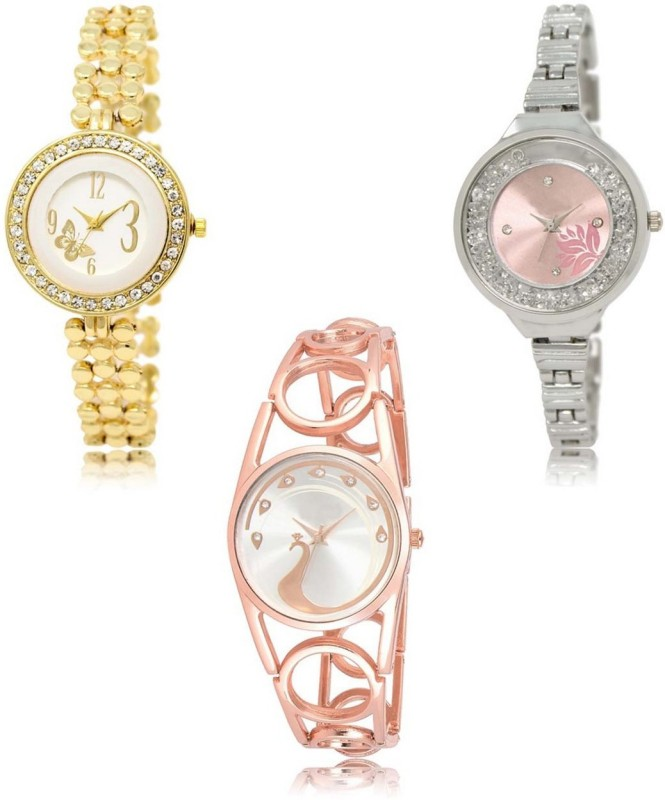 INFINITY MAKERS LRM-203-226-232 Best Selling New Combo Analog Watch  - For Women