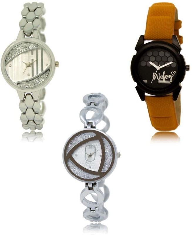 INFINITY MAKERS LRM-223-235-240 Best Selling New Combo Analog Watch  - For Women
