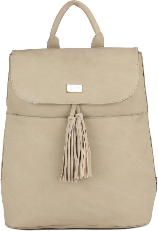 Allen Solly Laptop Backpack 25 L Medium Backpack(Beige)