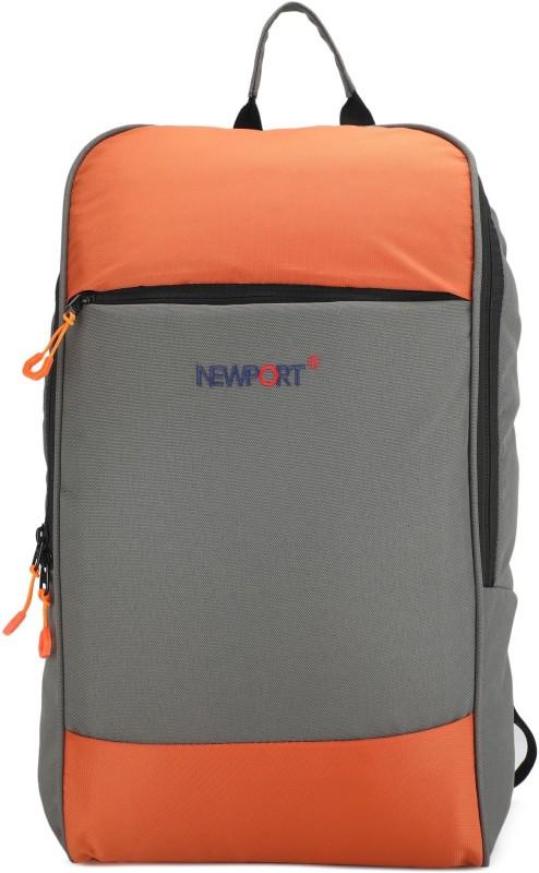 Newport FKNPVB001LGO 30 L Backpack(Grey, Orange)