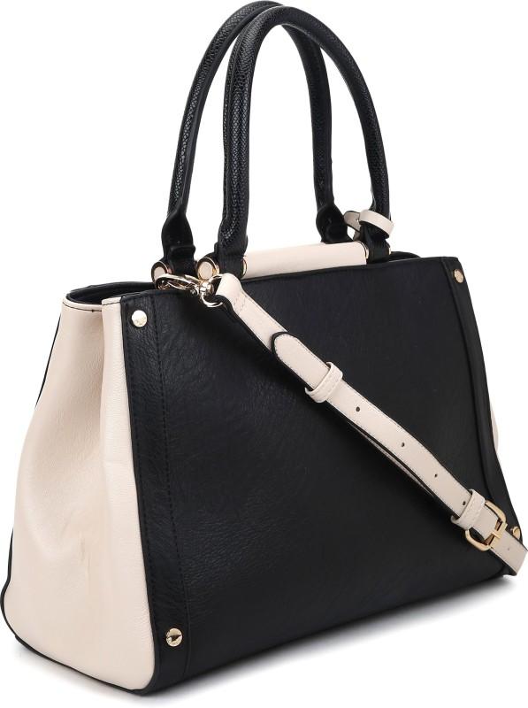 Dune London Women Black, Beige Hand-held Bag