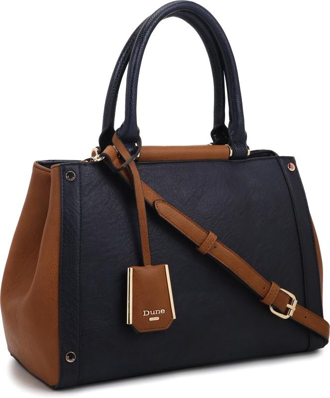 Dune London Women Brown, Blue Hand-held Bag