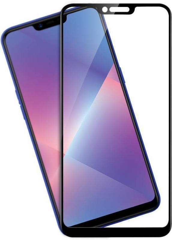 Micvir Edge To Edge Tempered Glass for Realme C1(Pack of 1)