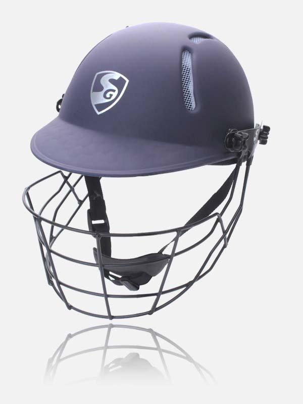 SG Aeroshield Cricket Helmet(Red and White)