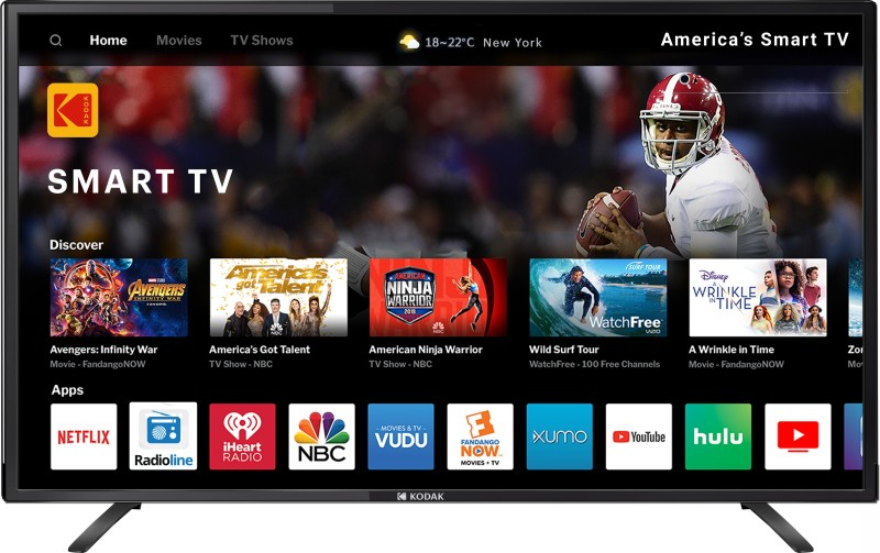 Kodak XSMART 102cm (40 inch) Full HD LED Smart TV(40FHDXSMART)