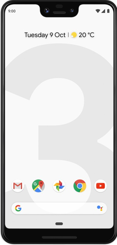 Google Pixel 3 XL (Clearly White, 64 GB)(4 GB RAM)
