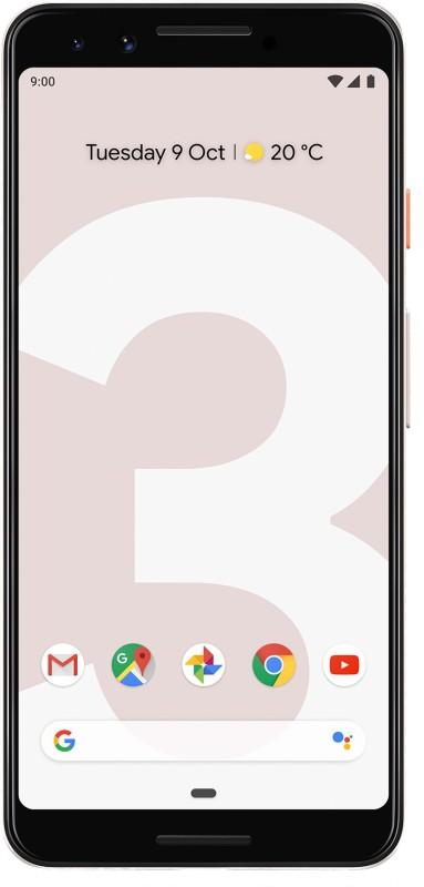 Google Pixel 3 (Not Pink, 128 GB)(4 GB RAM)