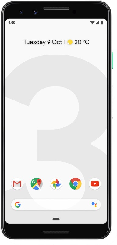 Google Pixel 3 (Clearly White, 64 GB)(4 GB RAM)